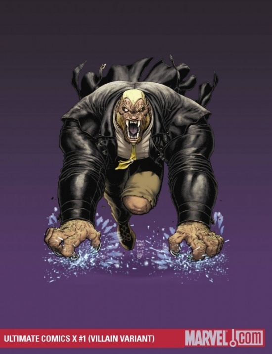 Ultimate Comics X (2010) #1 (VILLAIN VARIANT)