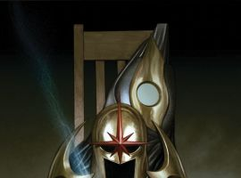 NOVA #21 cover by Adi Granov