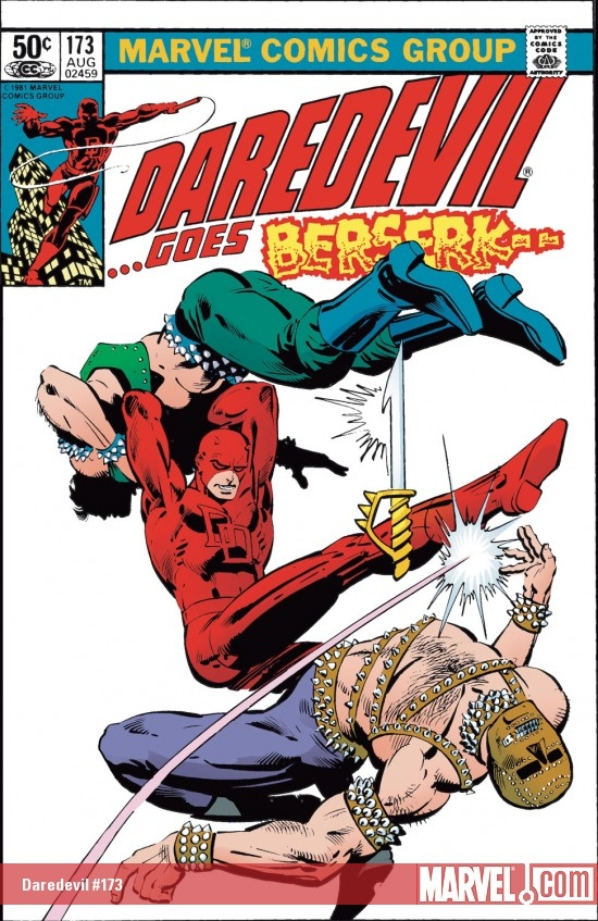 DAREDEVIL #173 COVER
