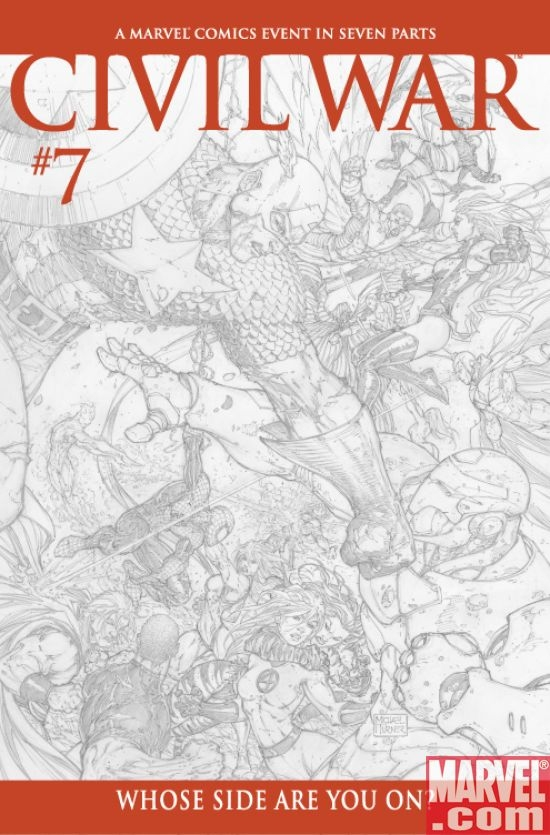 Civil War #7 (Turner sketch var.)