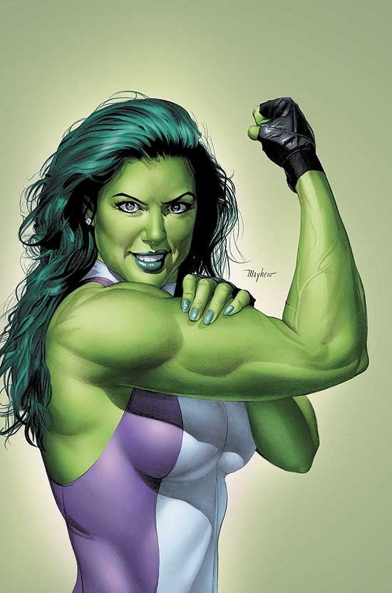 SHE-HULK (1999) #9 COVER