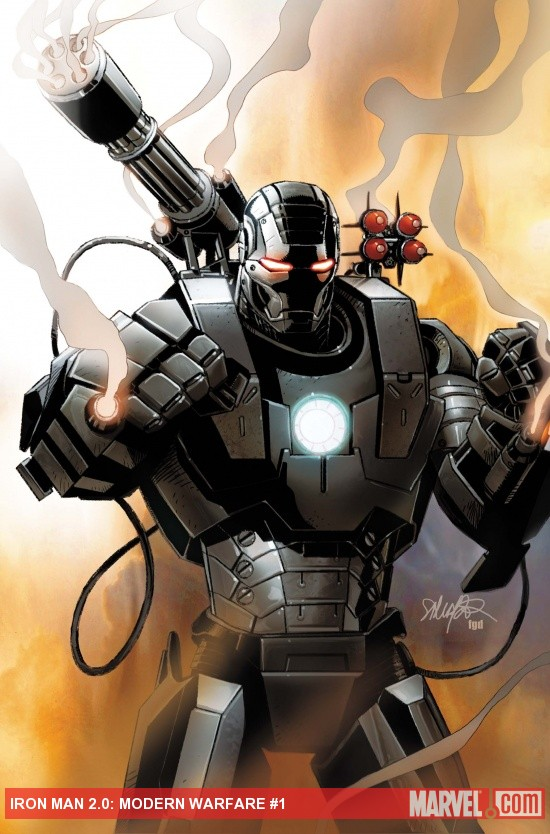 Iron Man 2.0: Modern Warfare (2011) #1