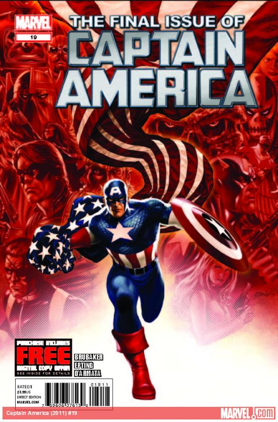 CAPTAIN AMERICA 19 (WITH DIGITAL CODE)