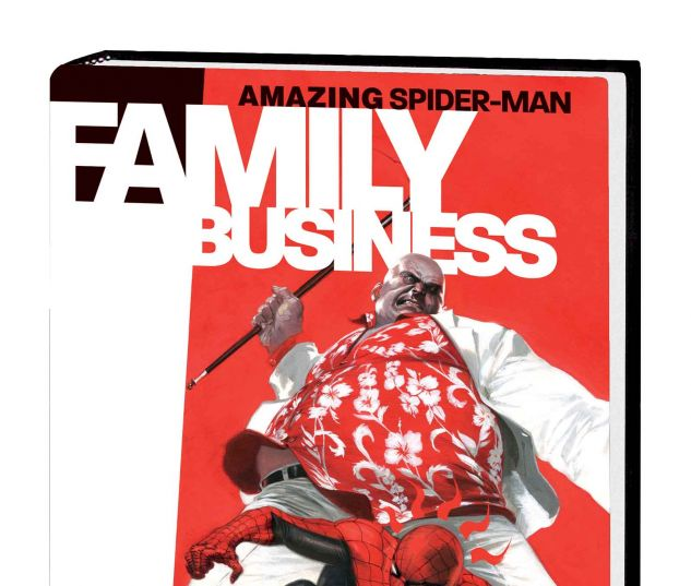 AMAZING SPIDER-MAN: FAMILY BUSINESS OGN-HC (WITH DIGITAL CODE, SDOS)