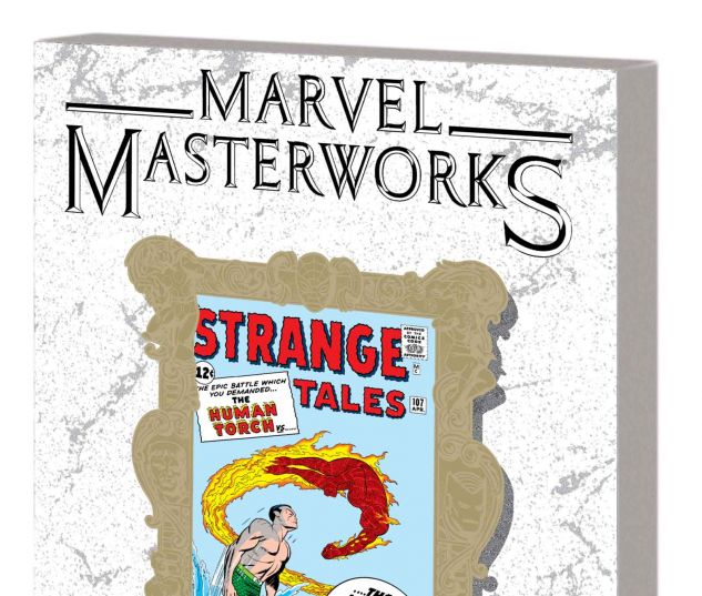 MARVEL MASTERWORKS: THE HUMAN TORCH VOL. 1 TPB VARIANT (DM ONLY)