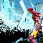 Screenshot of Iron Man and the Controller from Iron Man: Armored Adventures