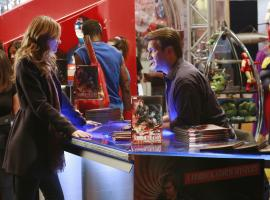 Stana Katic and Nathan Fillion star as Kate Beckett and Richard Castle in ABC's Castle
