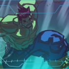 The Hulk leaps into action in a color storyboard from Marvel's Avengers Assemble