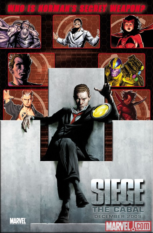 Image Featuring Norman Osborn, Mephisto, Scarlet Witch, Thanos, X-Man