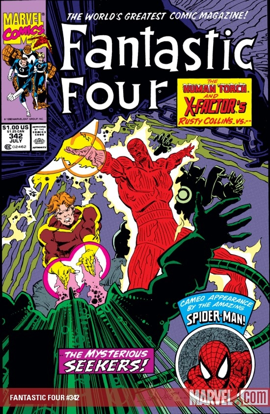 FANTASTIC FOUR #342