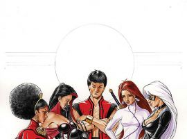 HEROES FOR HIRE (2007) #6 COVER