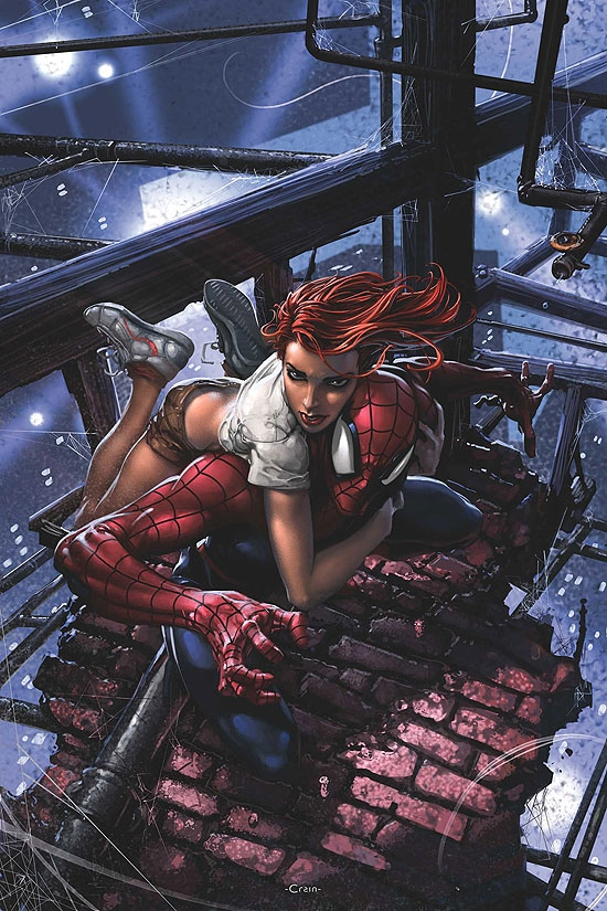 SENSATIONAL SPIDER-MAN (2008) #32 COVER