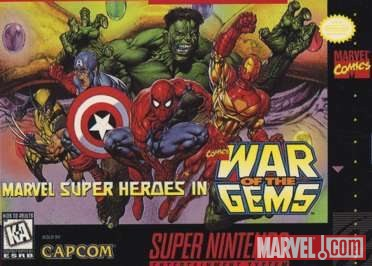 Iron Man in Marvel Super Heroes in War of the Gems