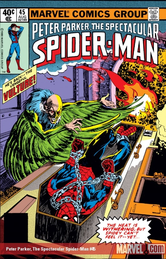 Peter Parker, The Spectacular Spider-Man #45