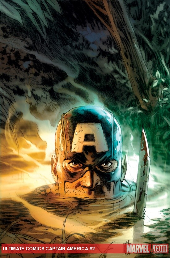Ultimate Comics Captain America #2 Cover