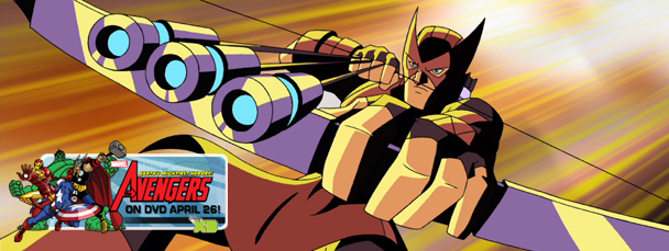 The Avengers: Earth's Mightiest Heroes! DVD Screenshot Gallery