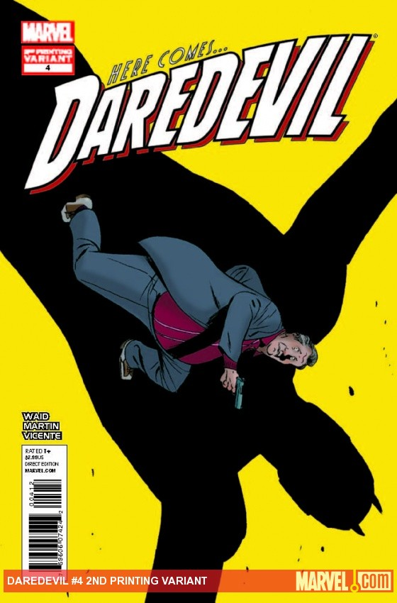 DAREDEVIL 4 2ND PRINTING VARIANT