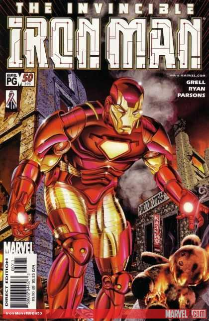 Iron Man (1998) #50 cover