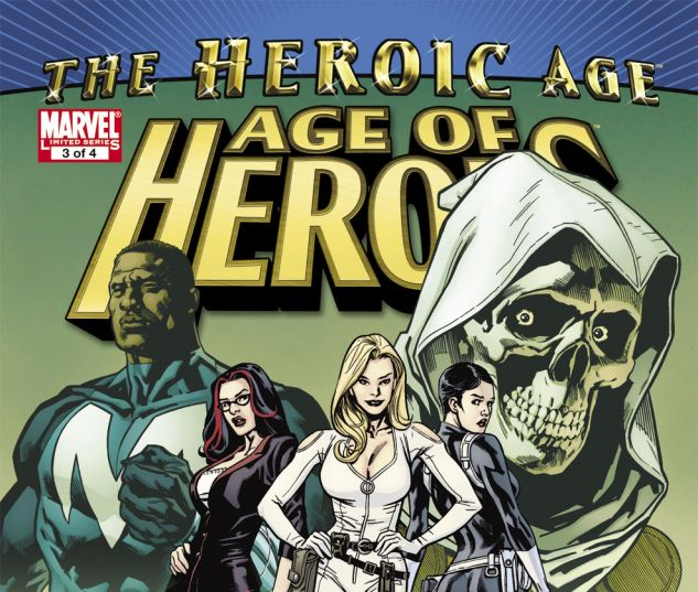 Age of Heroes (2010) #3 Cover