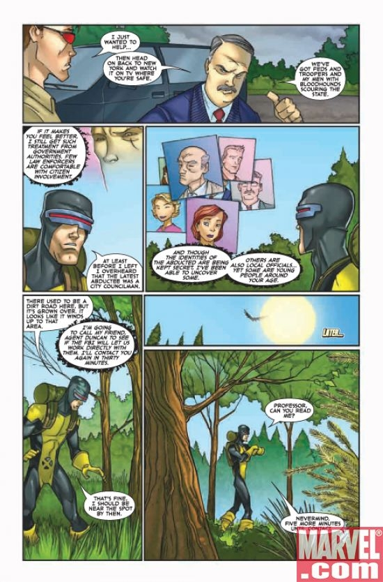 X-MEN: FIRST CLASS #10, page 7