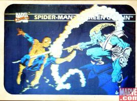 Spider-Man vs. Green Goblin Hologram #MH5