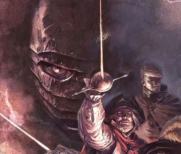 Marvel Illustrated: The Man in the Iron Mask (2007) #1