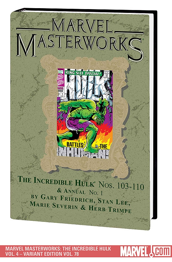 Marvel Masterworks: The Incredible Hulk Vol. 4 (Hardcover)