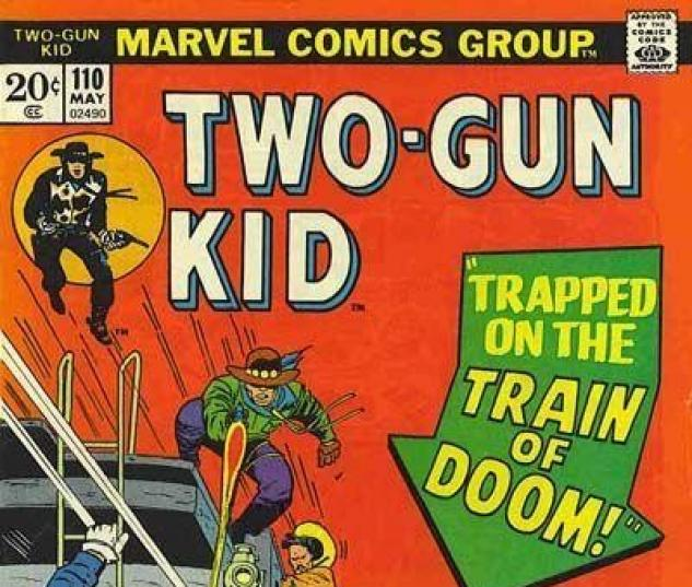 TWO-GUN KID #110 cover
