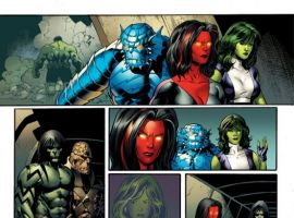 Image Featuring Korg, Skaar, Red She-Hulk, Rick Jones