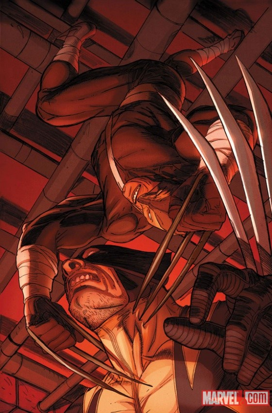 Daken: Dark Wolverine #9.1 preview art by Ron Garney