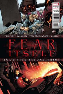 Fear Itself (2010) #5 (2nd Printing Variant)