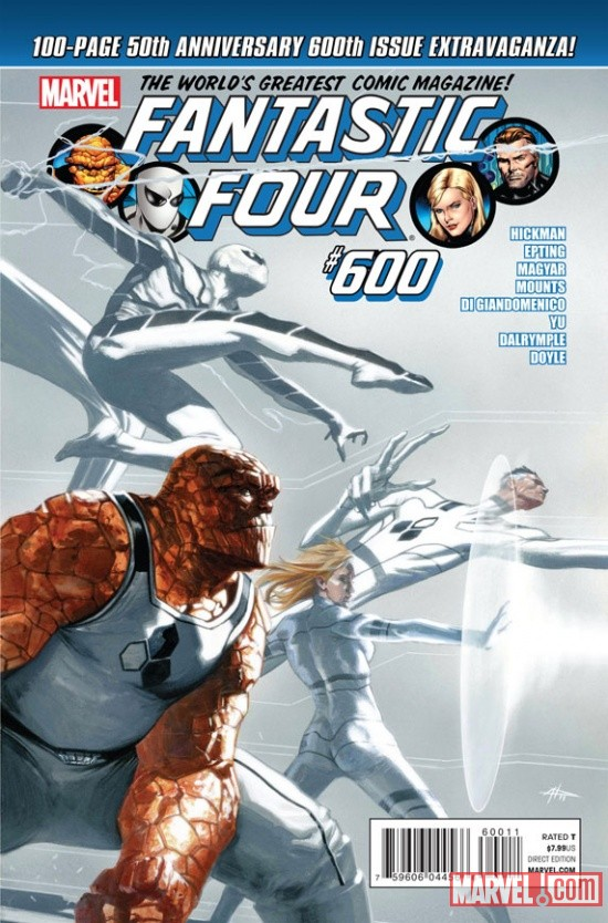 Fantastic Four #600 Cover Art by Gabriele Dell'Otto