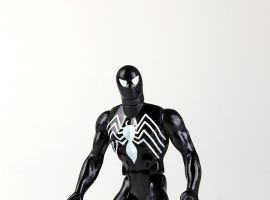 Gentle Giant Ltd. Secret Wars Black Suit Spider-Man Figure