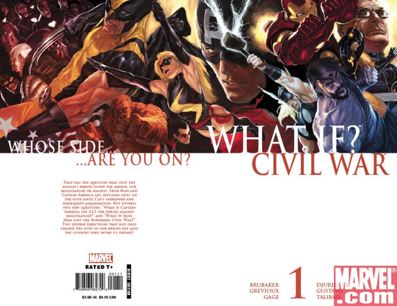 What If? Civil War #1 Djurdjevic Cover