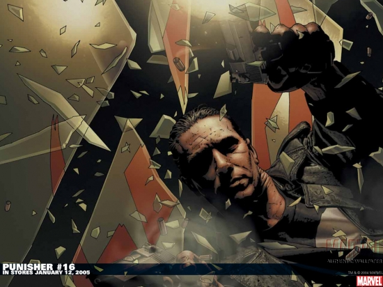 Punisher (2001) #16 Wallpaper