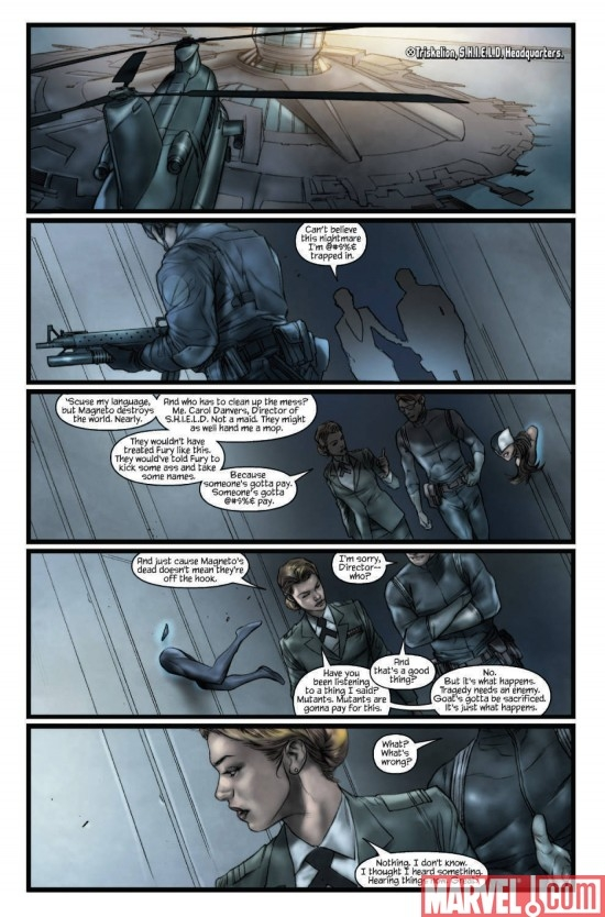 ULTIMATUM: X-MEN REQUIEM, page 1