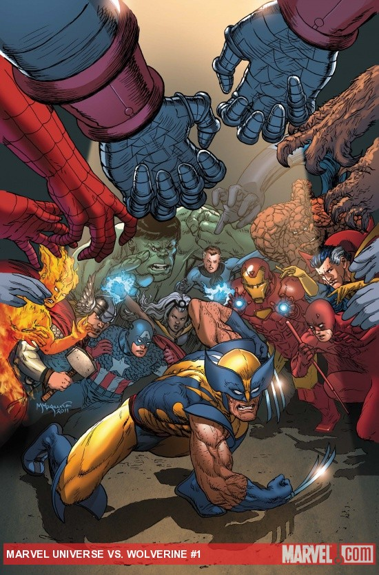 Marvel Universe Vs. Wolverine #1 cover