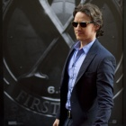 James McAvoy (Charles Xavier) at the 'X-Men: First Class' red carpet event in NYC