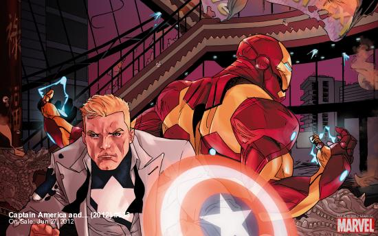 Captain America and... (2012) #633