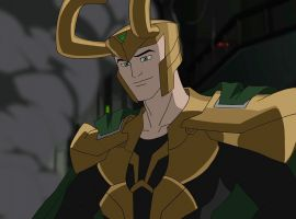 Loki makes mischief in Marvel's Ultimate Spider-Man