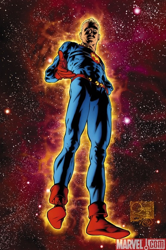 MARVELMAN BY QUESADA POSTER