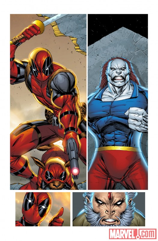 DEADPOOL CORPS #2 art by Rob Liefeld