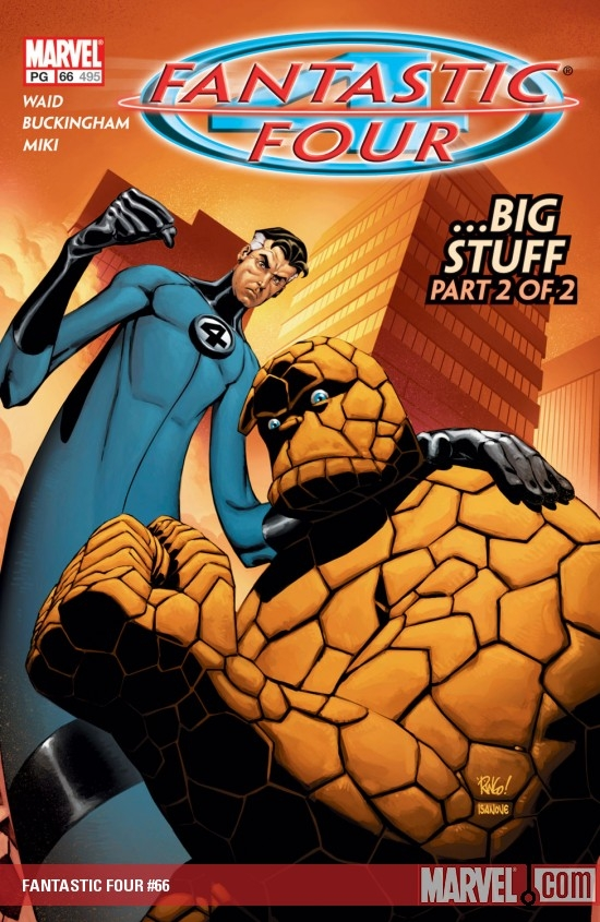 FANTASTIC FOUR #66