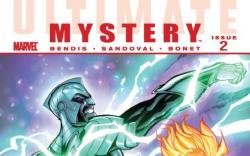Ultimate Comics Mystery #2 cover by Jeff Scott Campbell