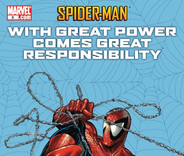 Spider-Man: With Great Power Comes Great Responsibility #5 cover