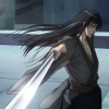 Kikyo Mikage, Shingen's assassin, in the Wolverine anime