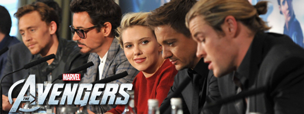 Marvel's The Avengers London Premiere Photos