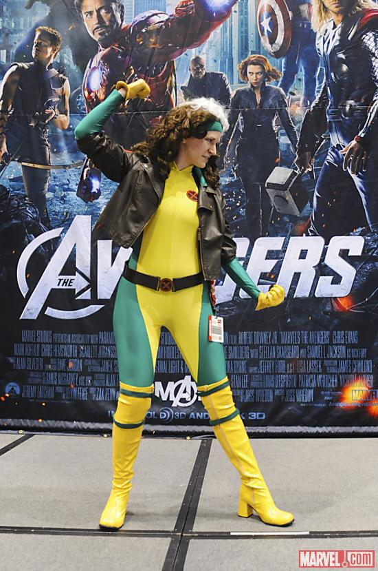 C2E2 2012: Rogue in the Marvel Costume Contest
