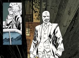 Venture into the Dark with Moon Knight #1
