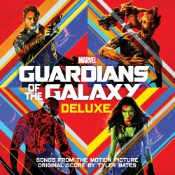Guardians of the Galaxy soundtrack album cover deluxe edition